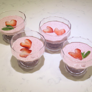 Strawberry Cream Cheese Mousse