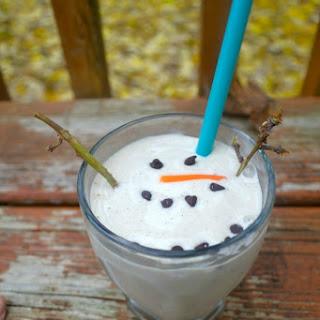 Melting Snowman Smoothie