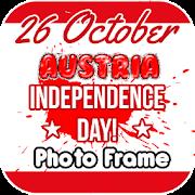 26 october austria Independence day photo frame