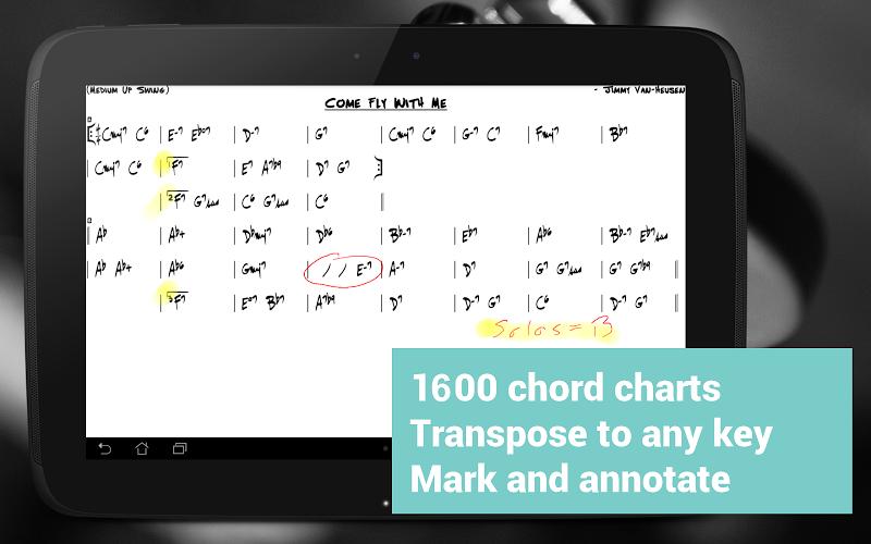 Fakebook Pro: Real Book and PDF Sheet Music Reader Screenshot 5