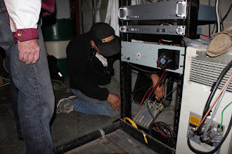 Photo: Setting the duplexer aside for air flow