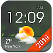 Home screen clock and weather,world weather radar APK