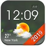 Home screen clock and weather,world weather radar 15.1.0.46261