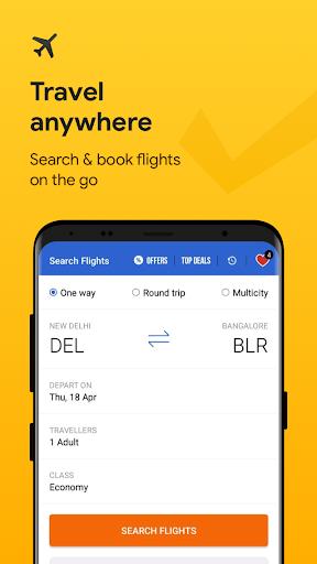 Cleartrip - Flights, Hotels, Train Booking App screenshot 1