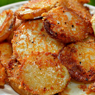 Crispy Crunchy Parmesan Potatoes Done Right Recipe