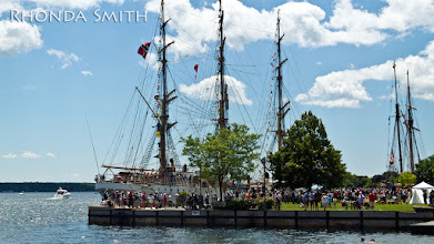 Photo: A ship docked on the docks by the water.