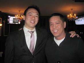 Photo: NYC alumni at Tammany Hall Tavern: Albert Tan '11, Andy Chen '05