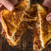 Pull Pork Grill Cheese