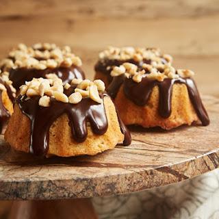 Brown Butter Hazelnut Bundt Cakes.
