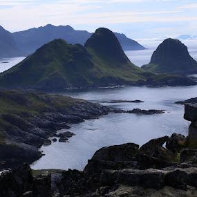 Hills in Vesterålen by Sigbjørn Berg - Landscapes Mountains & Hills ( hills, vesterålen )