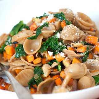 Whole-Wheat Pasta with Fall Vegetables.