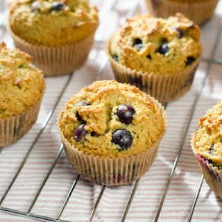 Paleo Blueberry Muffins.