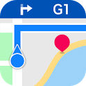 Tantu Map ( GPS Navigation Designed for Travelers) icon