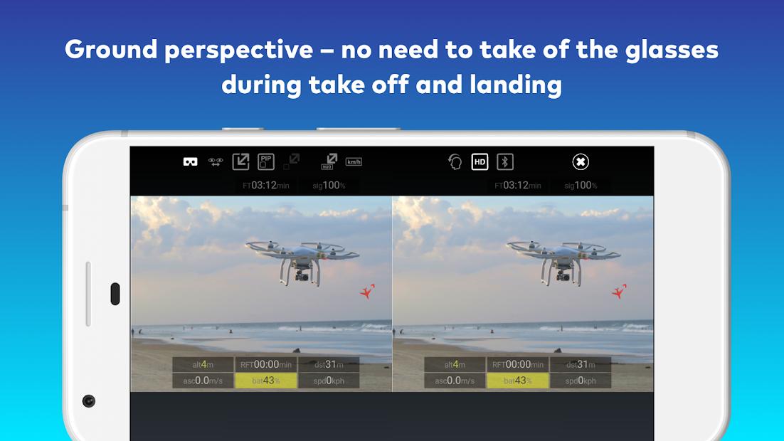 2457ceed6ae ... CAVU FPV for DJI GO 4 Drones Android App Screenshot ...