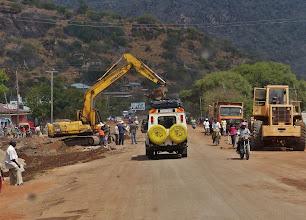 Photo: Ca. 120 km sind bereits fertiggestellt und es wird zügig weitergebaut.
