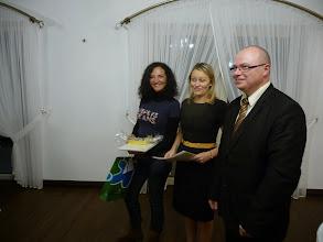 Photo: Rebent un petit obsequi de l'escola polonesa.