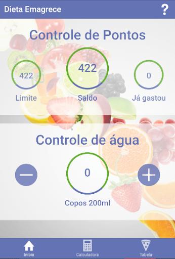 Dieta dos Pontos - Controle screenshot