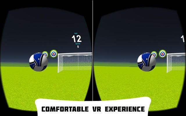 VR Soccer Header - screenshot