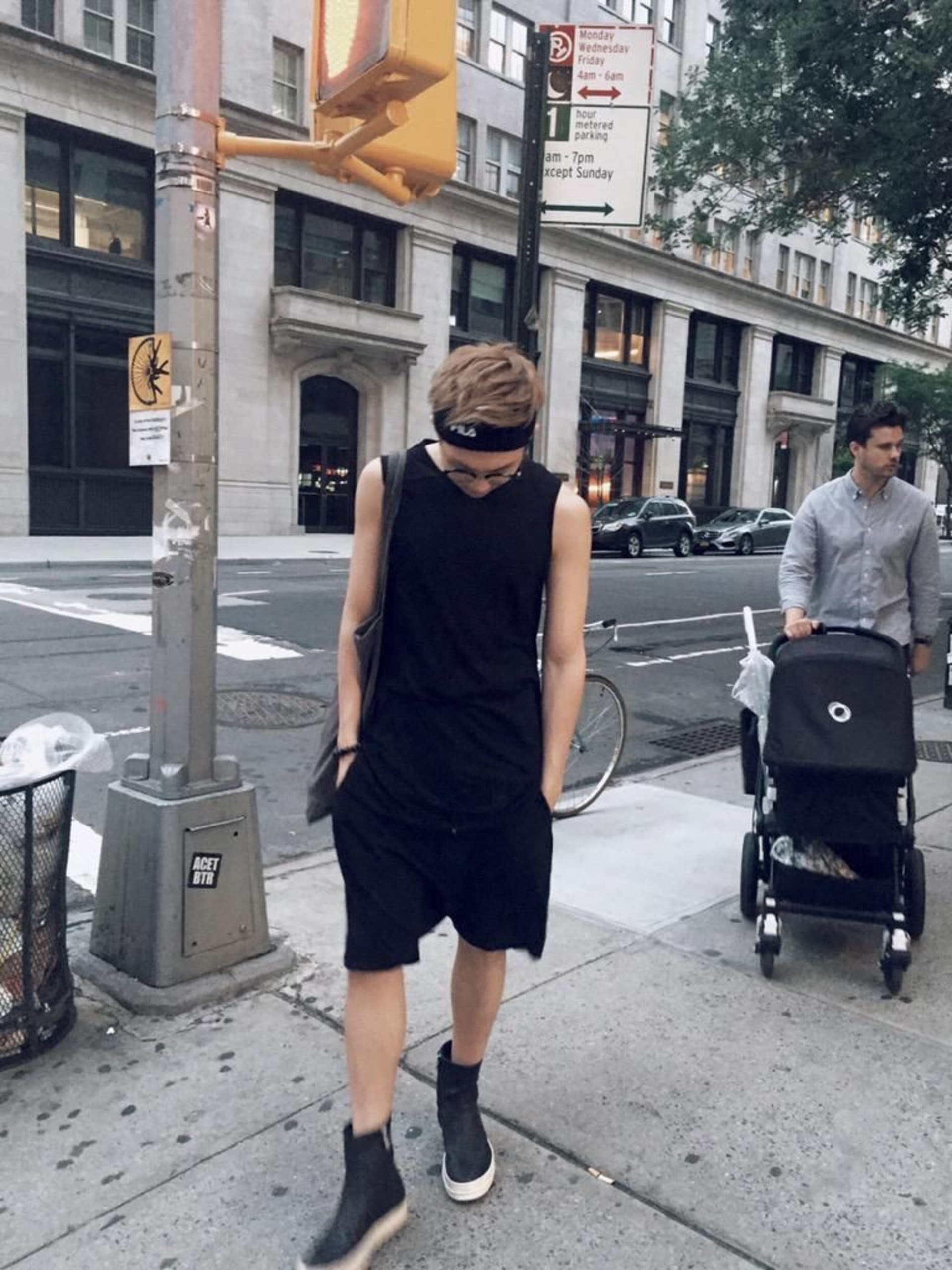 20 Sexy Photos Of Sleeveless RM — Because You Deserve It