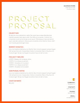 Objective Project - Project Proposal item