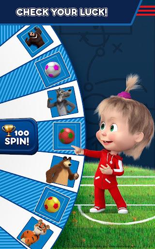 Masha and the Bear: Football Games for kids 1.3.7 screenshots 20