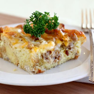 Overnight Bacon and Egg Casserole