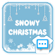 Snowy Christmas skin for Next SMS - Androidアプリ