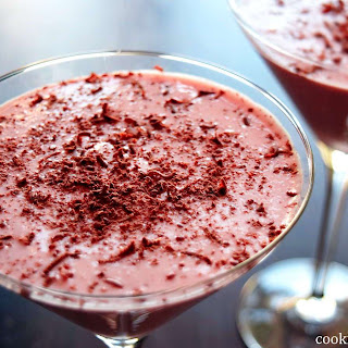 Rhubarb and Strawberry Mousse Drink Recipe
