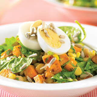 Sweet Potato and Sunflower Seed Salad