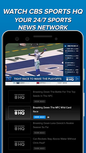 CBS Sports App - Scores, News, Stats & Watch Live 9.9.1 screenshots 4