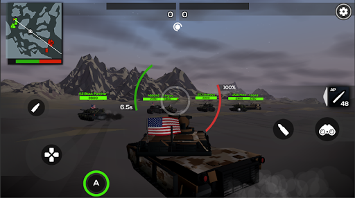 Poly Tank 2: Battle Sandbox apkmind screenshots 1