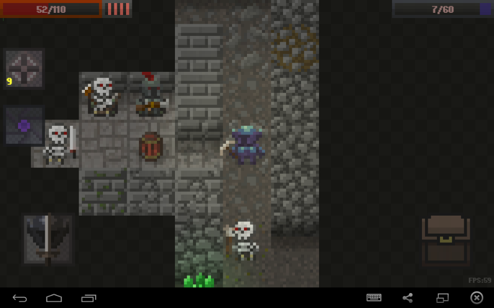 Caves (Roguelike)- screenshot