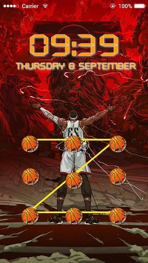 Applock Theme Basketball