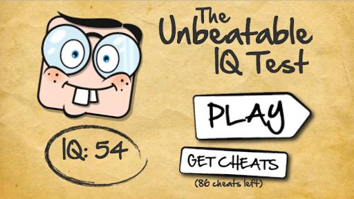 The Unbeatable Game IQ Test