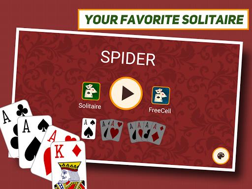 Spider Solitaire: Classic 1.1.8 screenshots 6