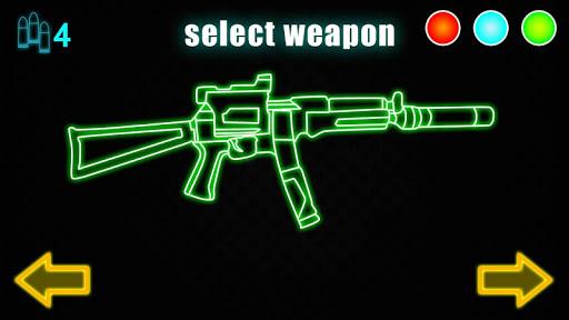 無料模拟Appのネオンガン武器シミュレータ|記事Game