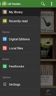 Universal Book Reader- miniatura screenshot