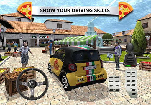 Pizza Delivery: Driving Simulator u0635u0648u0631 1