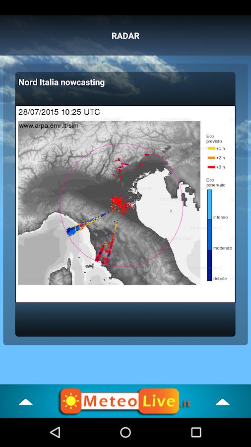 MeteoLive.it - screenshot