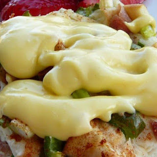 Quick and Easy Hollandaise Sauce in the Microwave.