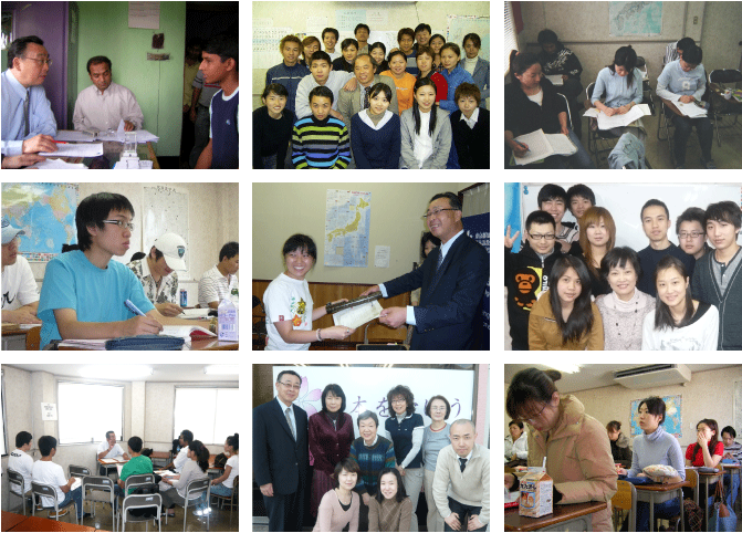 học tại trường học viện nhật ngữ tgn