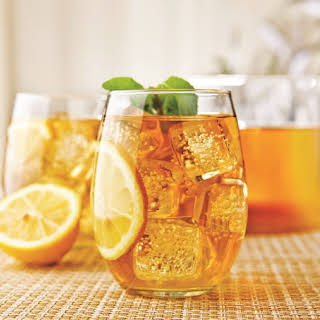 Sweet Southern Sorghum Iced Tea with Citrus.