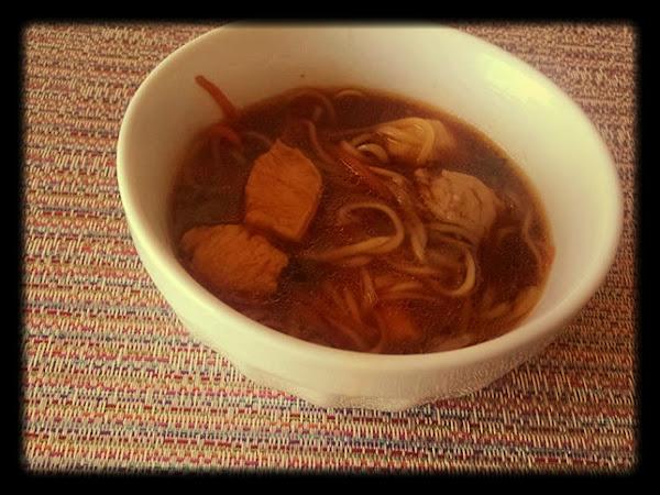 Thai Sweet Chili Ramen With Char Siu  Chicken Recipe