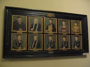 Photo: Poczet przodków. Widać, że to jedna rodzina. Wszyscy są do siebie podobni.