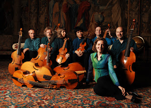 Photo: Photo: Stefan Schweiger; The Rose Consort of Viols with Clare Wilkinson at Forde Abbey November 2006.