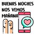 Stickers de saludos en español para WhatsApp apk