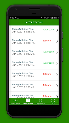 StrongAuth Mobile screenshot 3