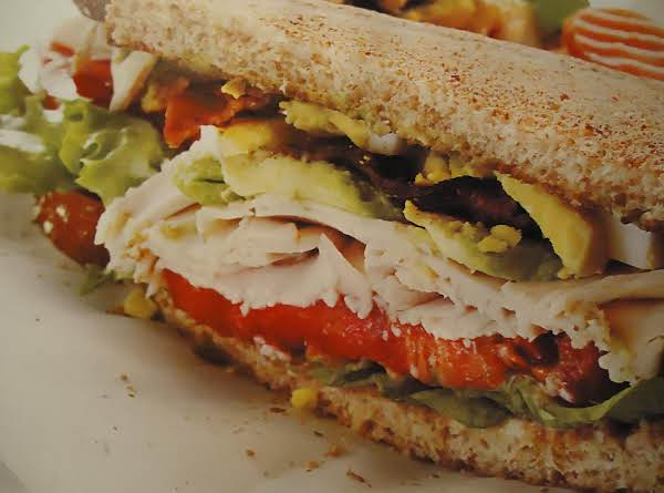 My Delicious Turkey Cobb Sandwich