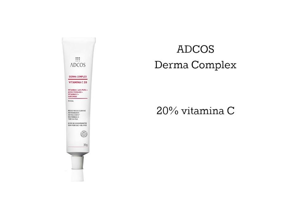 Vitamina C é boa para a pele? Adcos Derma Complex 20%