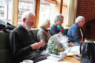 Photo: Jens Kristian Krarup blev optaget som æresmedlem af Foreningen Den Danske Klosterrute